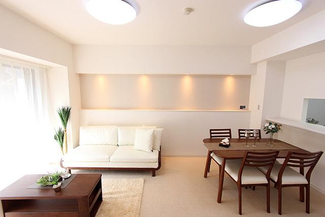 リノベーションしているマンションはオールスケルトンにしては移管から全てやりなおします。